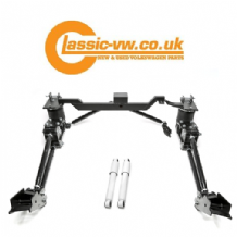 Mk1 Golf Caddy Rear 4 Link Frame With Air Bags + Dampers (up to 1987)